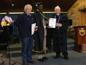 Zimbabwe student received his reward